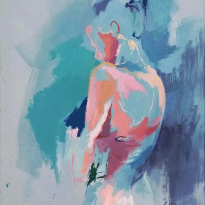 Breath, Oil on Canvas, 60 x 76 cm, 2018