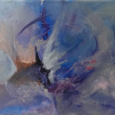 Chrysalism, Oil On Canvas, 24 X 18 cm, 2016