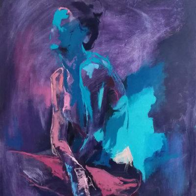 Dwell, Oil on Canvas, 76 x 101 cm, 2018