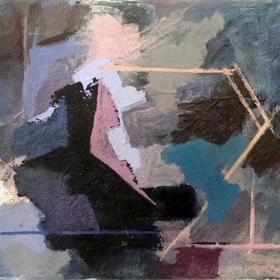 Ellipsism, Oil On Canvas, 24 X 18 cm, 2016