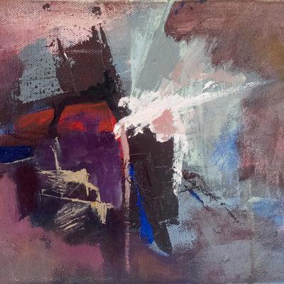 Mauerbauertraurigkeit, Oil On Canvas, 24 X 18 cm, 2016