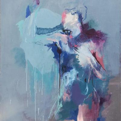 Murmur, Oil on Canvas, 91 x 121 cm, 2018