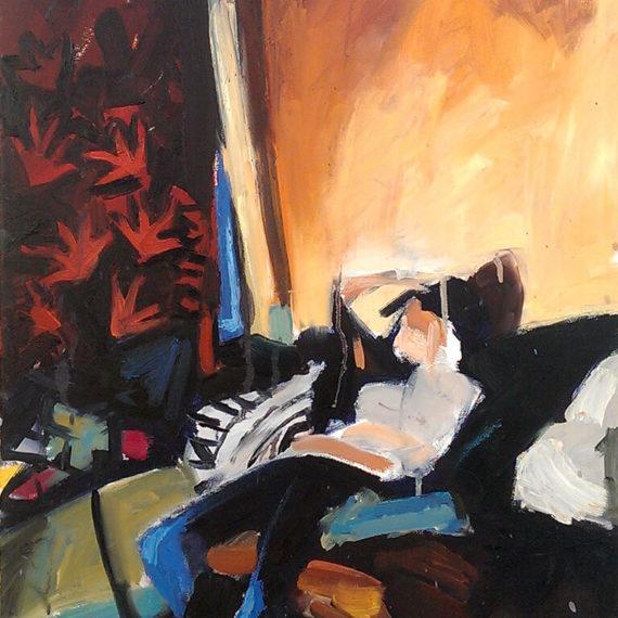Sunday Morning, Oil On Canvas, 50 X 70 cm, 2013