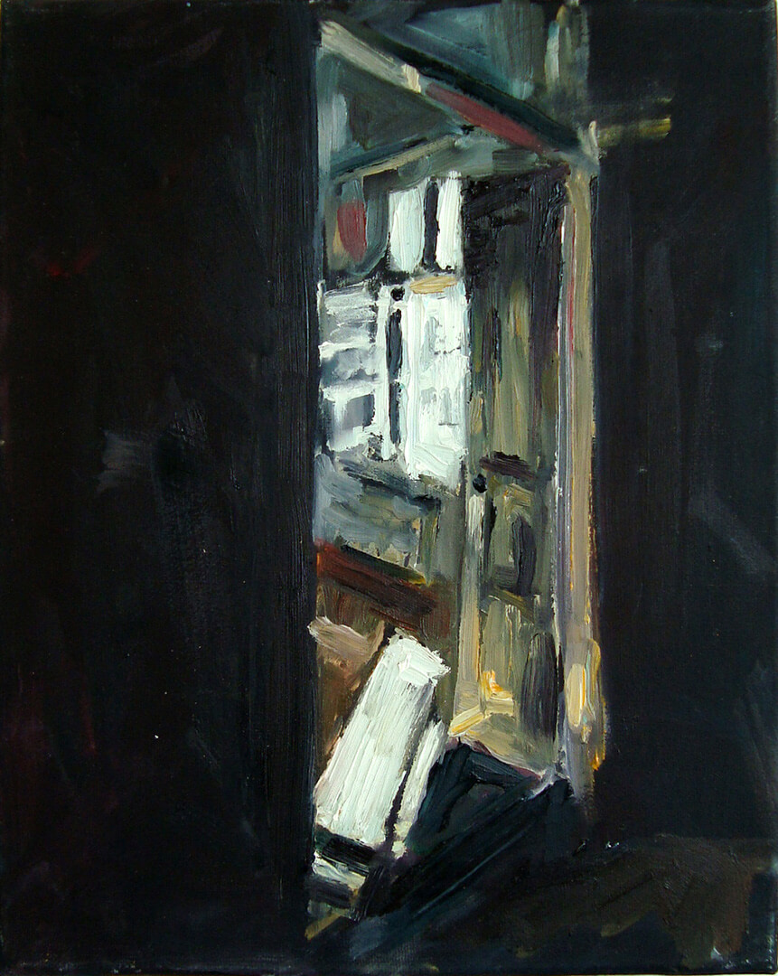 The College, Oil On Canvas, 24 X 30 cm, 2011