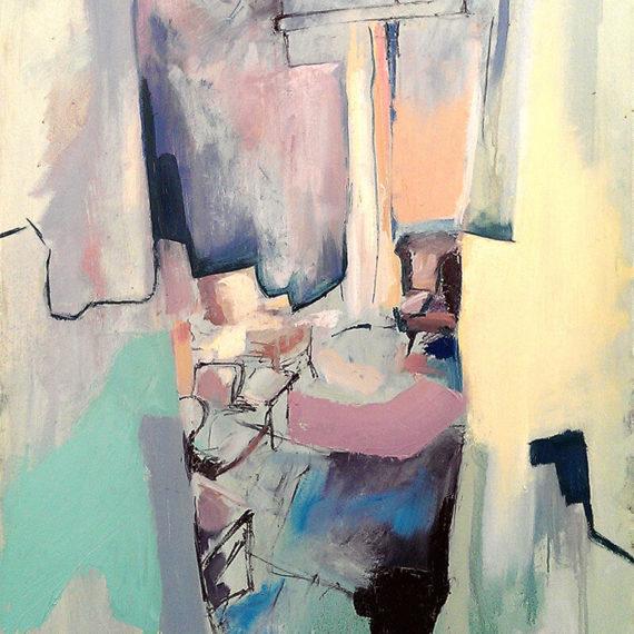 The Familiar, Oil On Canvas, 76 X 102 cm, 2015